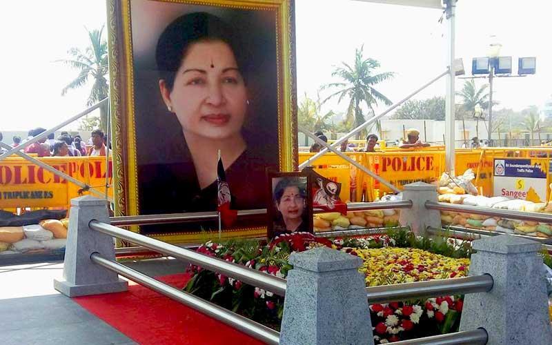 J Jayalalitha Memorial