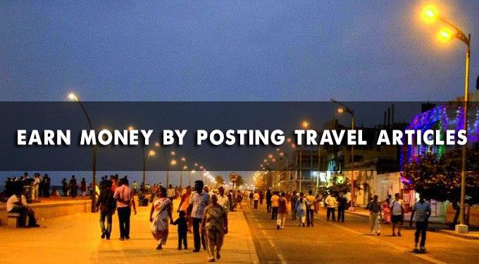 Earn money by posting travel articles
