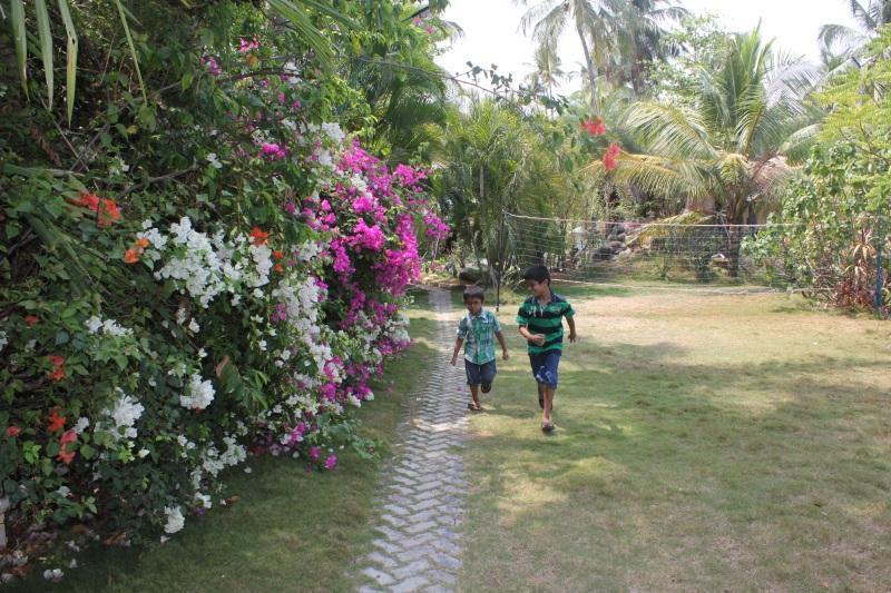 Kids having fun at Country Club Kochi