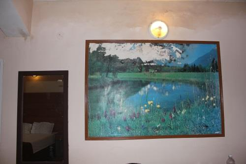 Wall paintings in the room in Maizons Lakeview Resort