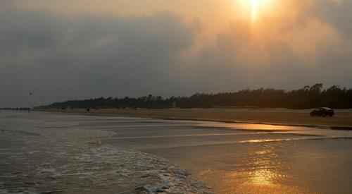 Sunrise at Mandarmani Beach