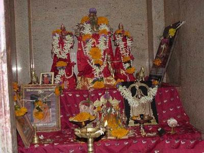 Utsav Murthy of Maha Ganapathi at Ranjangaon near Pune