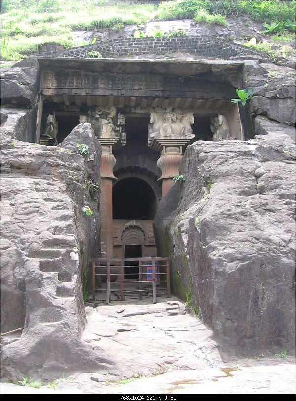 Bedse Caves near Pune City