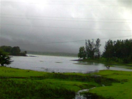 Lonavala Lake during Monsoon Season