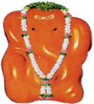 Idol of Varada Vinayak at Mahad near Pune