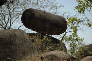 Balancing rocks Jabalpur