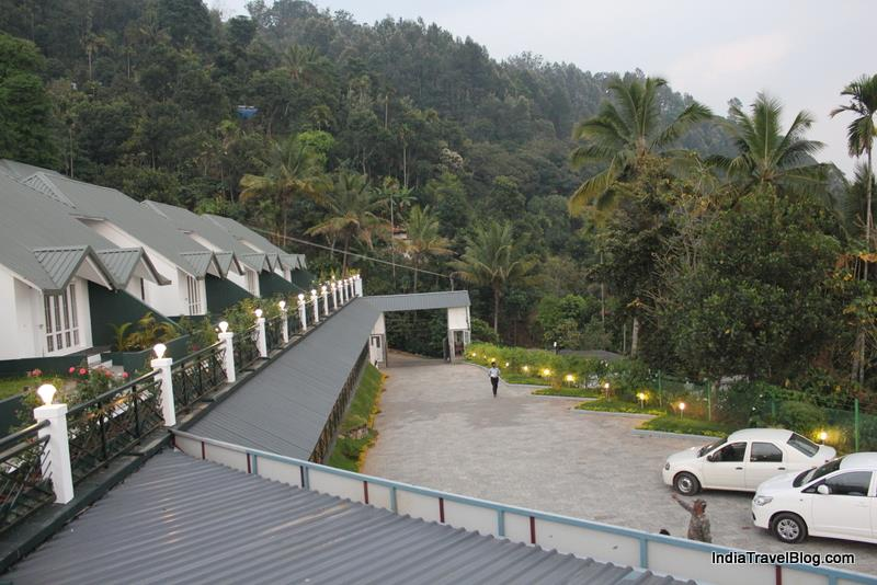 Front view of Munnar Tea Country Resort