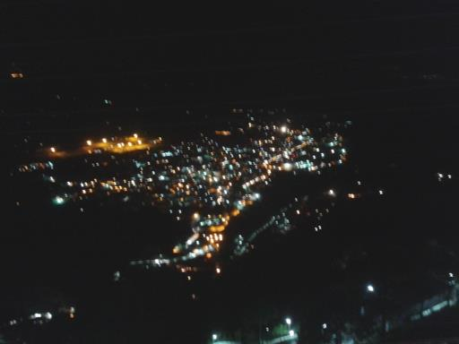 View from Bhairon Temple of Vaishno Devi Mata in night