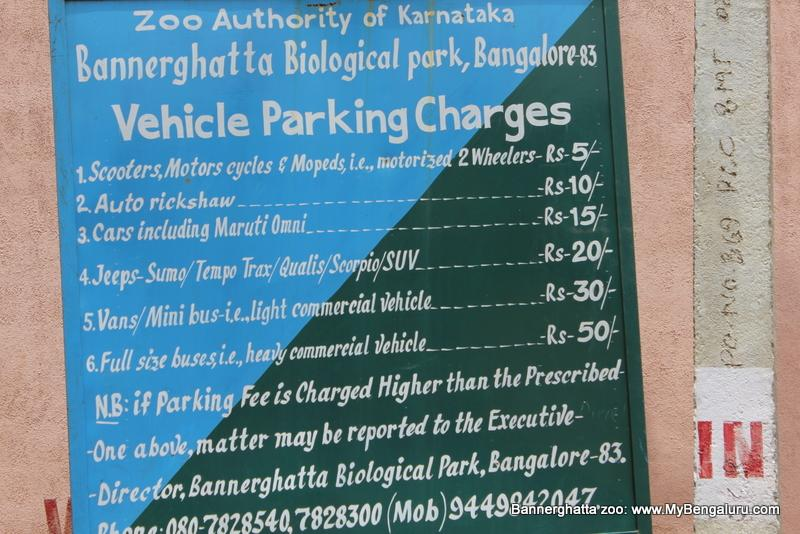 Bannerghatta Zoo Parking