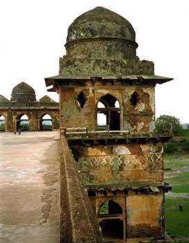 Mandu Fort Palace Ruins
