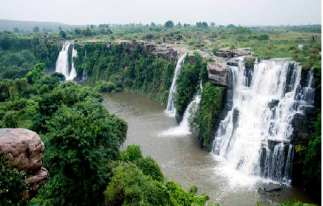 Ethipothala Waterfalls