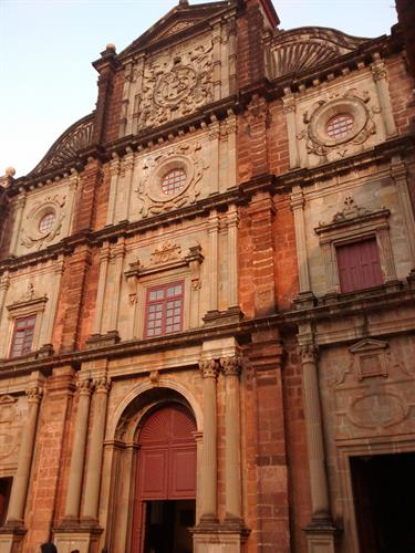 Basilica of Bom Jesus Goa Old church