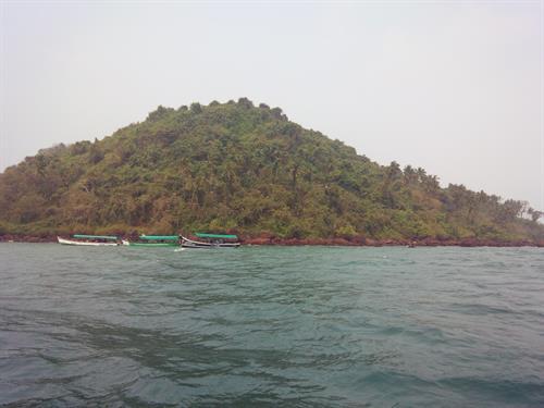 Visit to Grand Island Goa