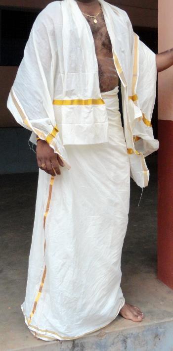 Kerala style mundu