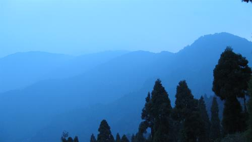 A view from Lepcha Cottage