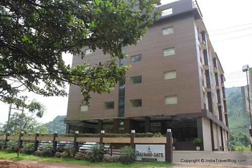 Frontview of Pepper Wayanad Gate Hotel