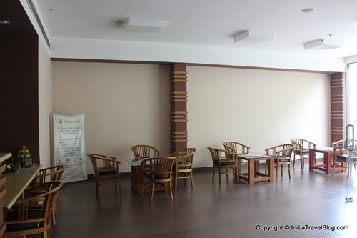 Spacious lobby at Pepper Wayanad Gate Hotel