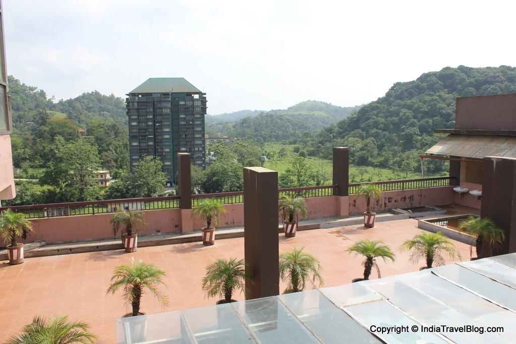 Aerial view from Pepper Wayanad Gate Hotel