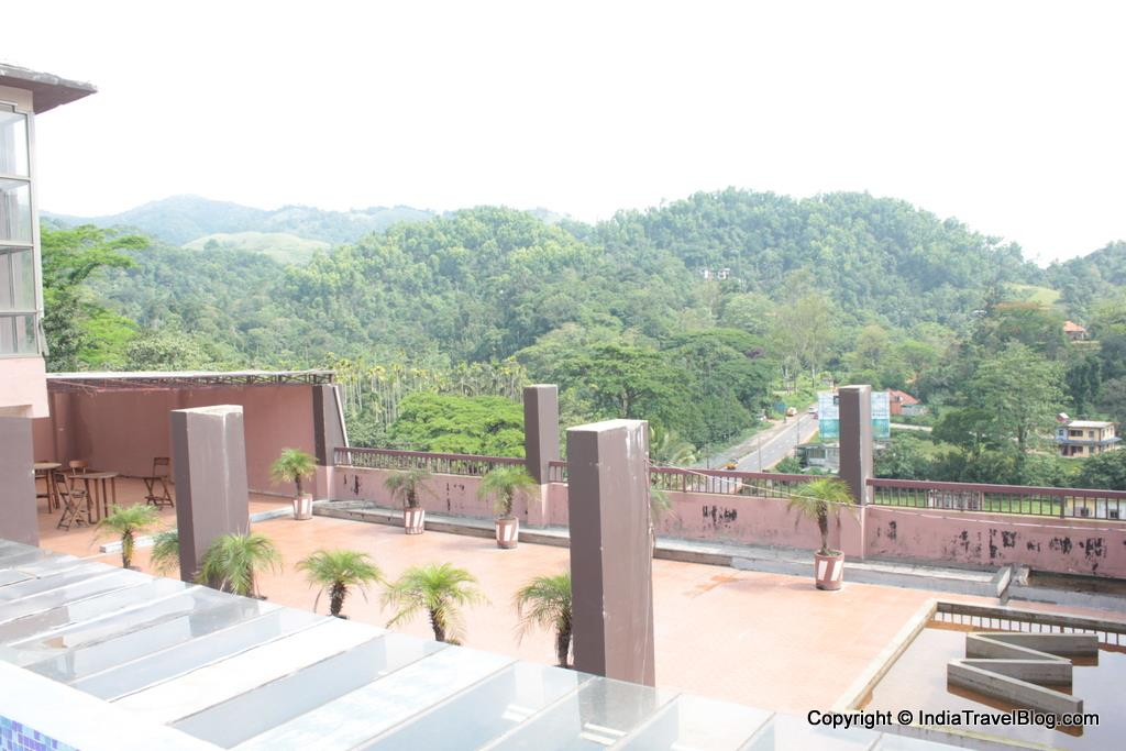 Balcony view from Pepper Wayanad Gate Hotel