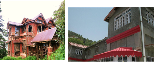 Old & new colonial style home in McLeod Ganj