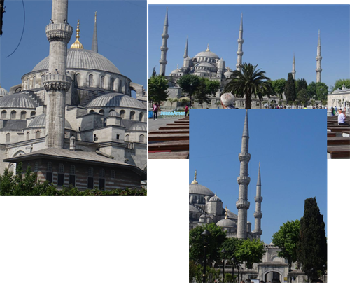 Blue Mosque by day