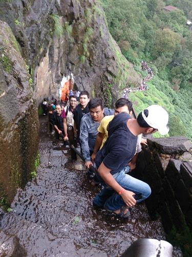 Brahmagiri trekking path