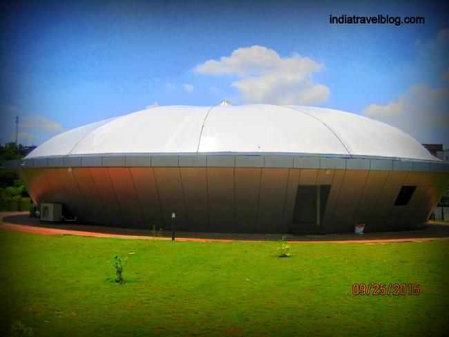 Simulator theatre in Kochin Science park