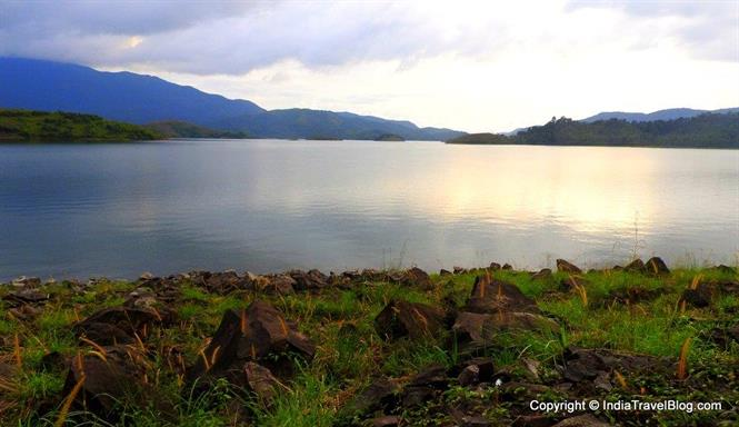 A beautiful view of Banasura Dam, Wayanad