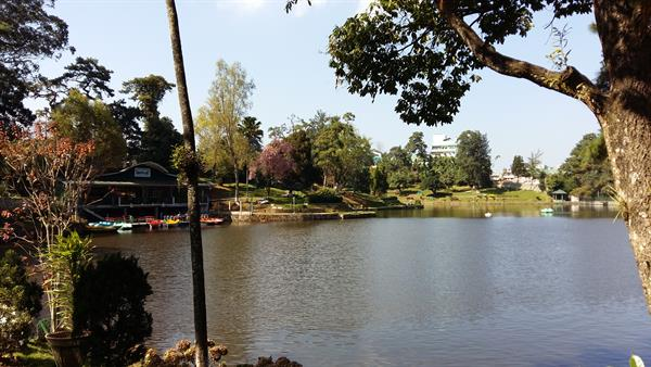 A beautiful view of Wards Lake in Shillong