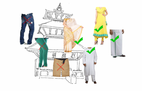 Dress code in Temples