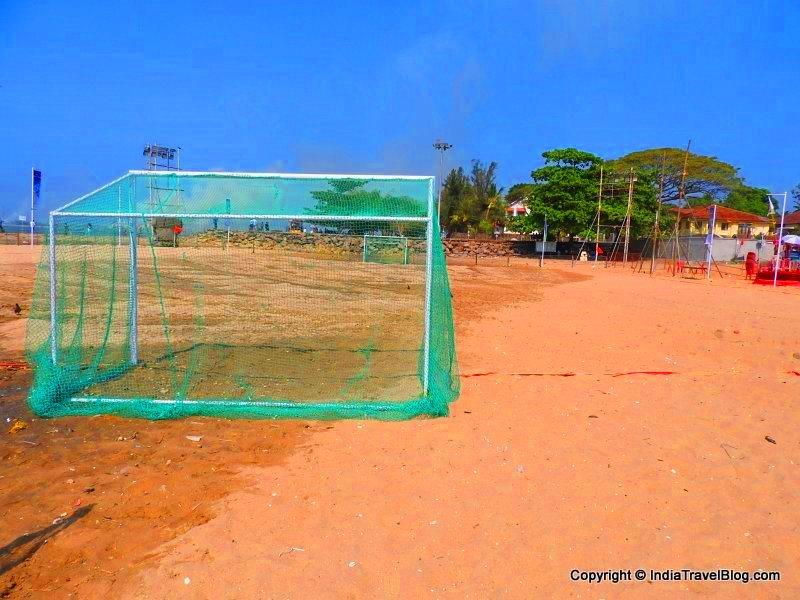 Cochin Carnival 2016 beach football ground