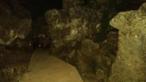 Mawsmai Cave view
