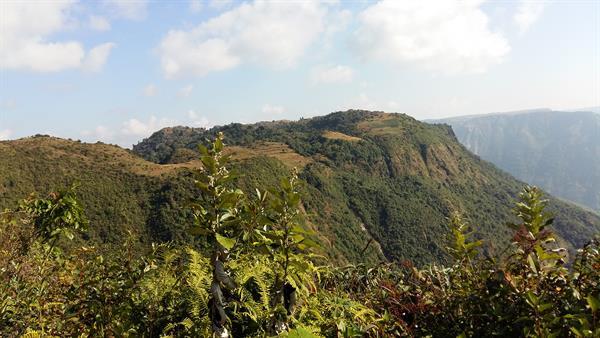 Panaromic Mawdok valley