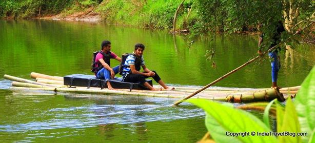 Starting region of Bamboo river rafting
