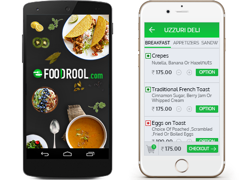 FoodRool food app