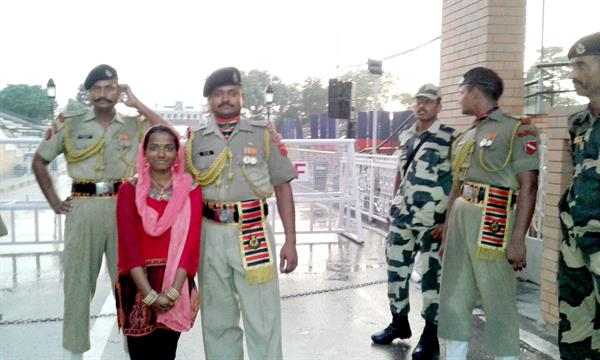 At Wagah Bordea gate