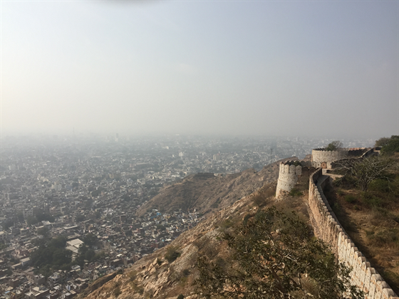 Jaipur city overview