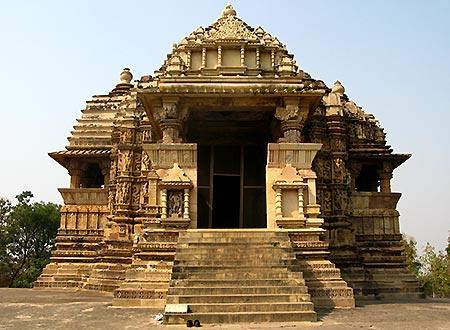 A temple at Khajuraho