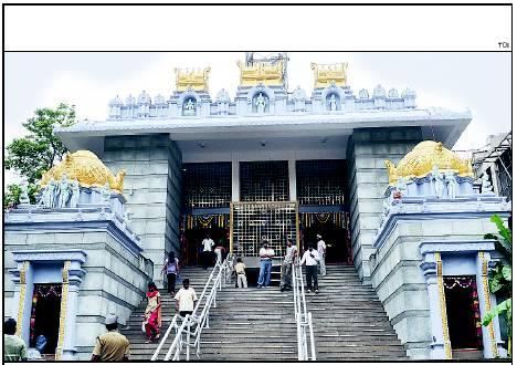 Lord Venkateshwara at Vyalikaval Malleshwaram