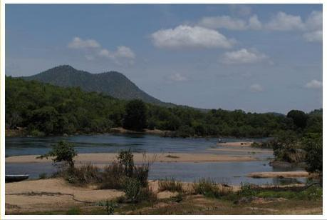 A Panoramic view of Cauvery River