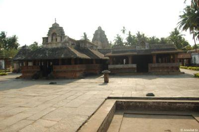 Banavasi Temple court yard