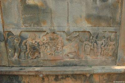 Wall panel of Banavasi temple