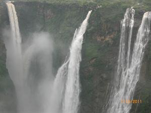 Splendid View of Jog Falls