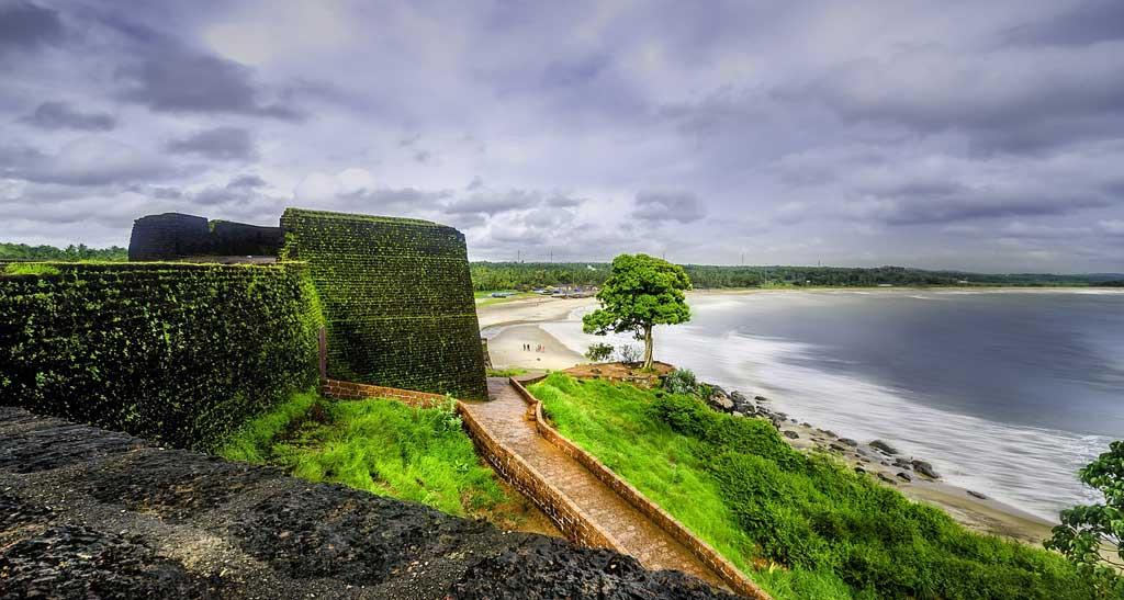 beautiful view of bekal fort