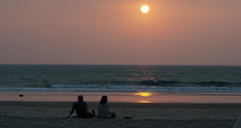 Couple,Best Travel Destinations in Goa