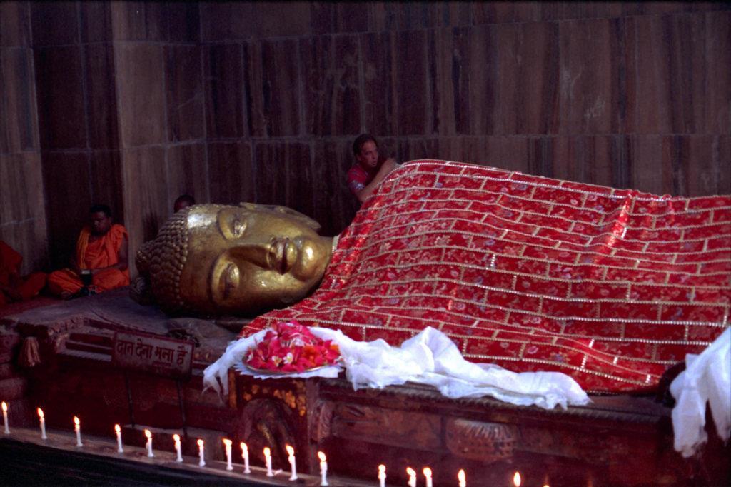 Dying Buddha-Mahaparinirvana Temple