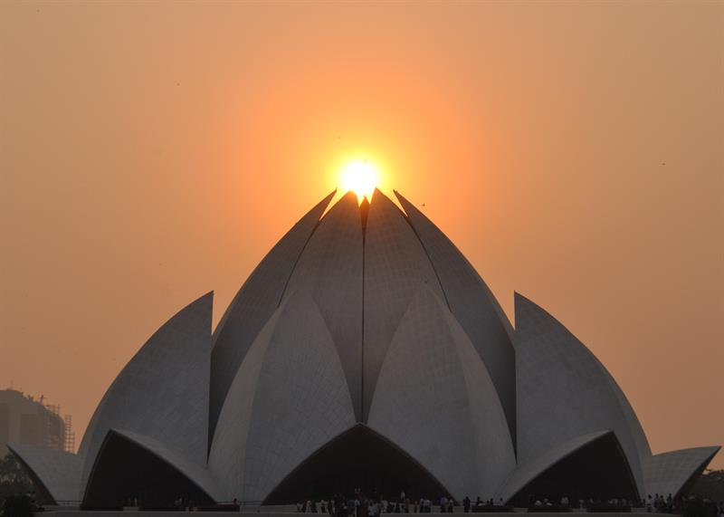 Bahai Temple, Best Tourist Places in Delhi - Tourism in Delhi