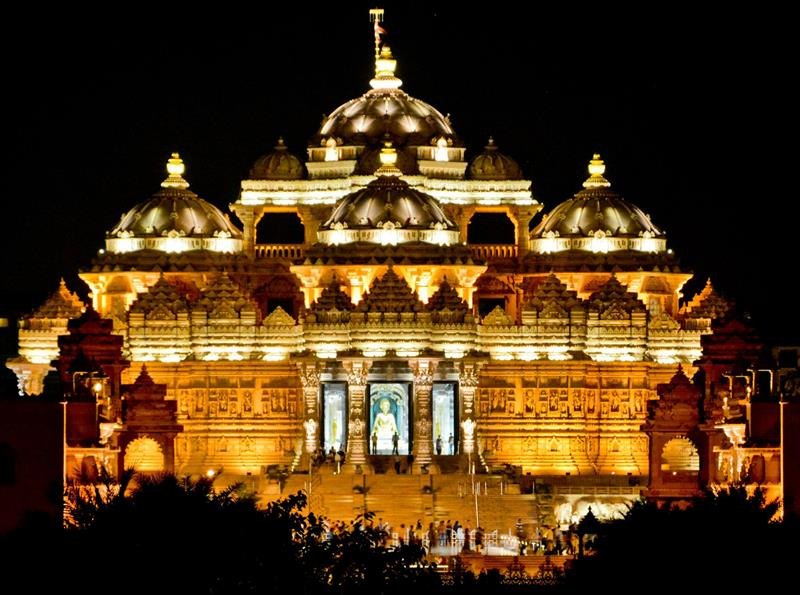 Swaminarayan Akshardham, Best Tourist Places in Delhi - Tourism in Delhi