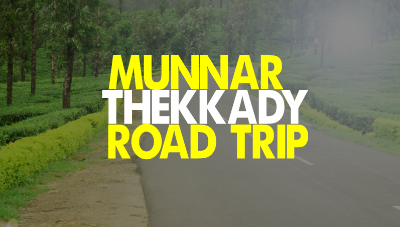 Munnar to Thekkady route