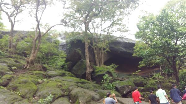 Near the Cave entrance
